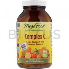 Витамин С, комплекс, Complex C, MegaFood, 180 таблеток
