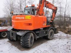 Экскаватор Hitachi ZX 130 W