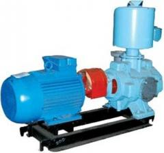 Pumps are water ring