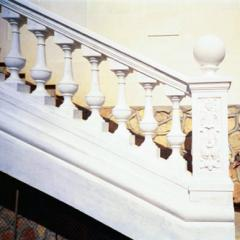 Balustrades and Rail-posts from concrete to order