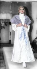 Women's fashionable evening clothing