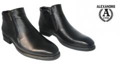 Boots, men's leather boots wholesale across
