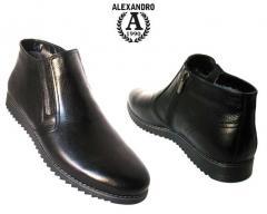 The footwear is demi-season, seasonal men's