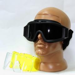 Safety glasses Revision Desert Locust Esn 3 lenses
