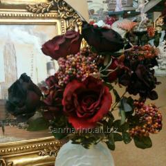 Искусственные цветы букет 50см (в состаренном