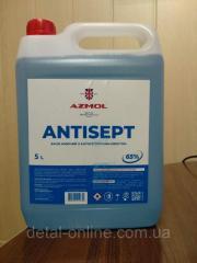 АНТИСЕПТИК AZMOL канистра 5 литров. (спирт не