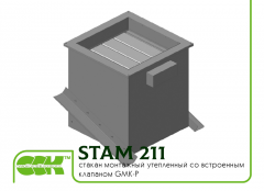 Insulated glass assembly with Integrated valve STAM 211