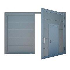Ворота противопожарные ДМП EI60-2-2250х2000