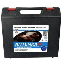 Аптечка медицинская автомобильная - АМА-1, футляр,