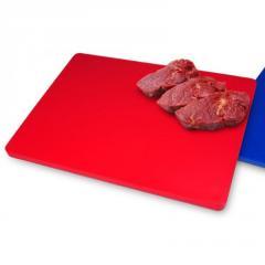 Доска разделочная красная (50x30x2 см) FoREST