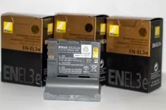 Аккумулятор для фотоаппаратов NIKON D50, D70, D80,