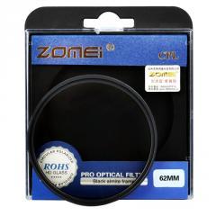 Поляризационный светофильтр ZOMEI 62 мм CPL