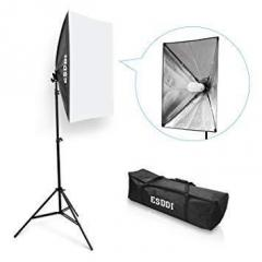 Комплект ESDDI PS025 (софтбокс, стойка, лампа -