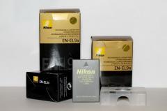 Аккумулятор для фотоаппаратов NIKON D40, D60,