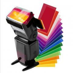 Набор цветных фильтров (рассеивателей) - гелевых