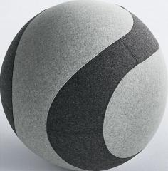 Мяч-шар для сидения DOTTO, с тканевым чехлом, ø