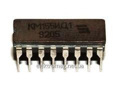 Двоично-десятичный декодер ИС драйвер часы трубки / 74141 русалки KM155ID1