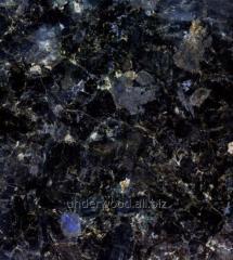 Tile polished granite Labradorit 30 mm.