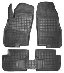 Коврики в салон Fiat Punto II, III 1999 -, черные,