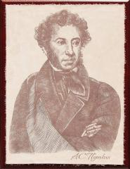 Picture on skin the Portrait Pushkin