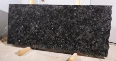 Полусляб гранитный Каменобродский лабрадорит 30 мм