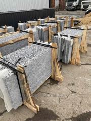 Poluslyab granite Korninsky 20 mm