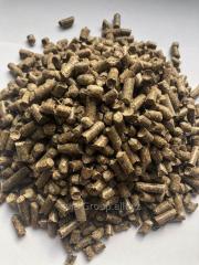 Топливные гранулы пеллеты 8 мм в мешках по...