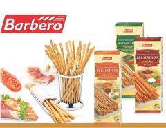 Хлебные палочки гриссини ТМ Barbero, 500 г