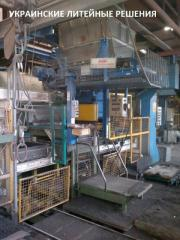 Automatic forming transfer line
