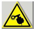 Предупреждающий знак «Осторожно. Сварка».