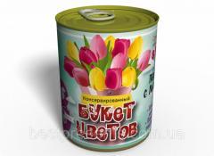 Консервированный Букет Цветов Луковица Тюльпана И