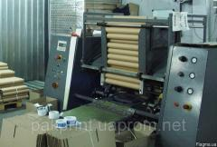 Станок порезки рулонных материалов, картонных