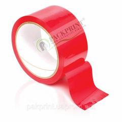 Клейкая лента красная 48мм х 66 ярдов х 45мкм