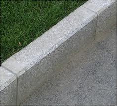 Concrete garden kerbs