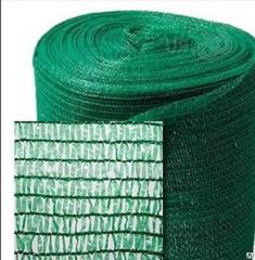 Protective netting for scaffoldings