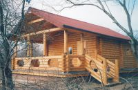 Bath and sauna wooden