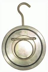 Backpressure interflange valve of Du100