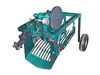 Kartofelekopalka KM-2 (under belt) vibration