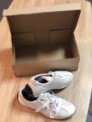 Упаковка-пакет для обуви гофра 365х95х275 мм под
