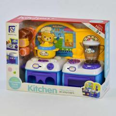 Кухня с работающим блендером со звуковыми и
