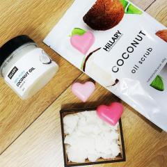 HiLLARY Скраб Coconut Oil Scrub, кокосовое масло