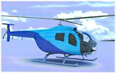 Helicopter city Scythian