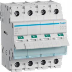 Выключатель нагрузки Hager 4-полюсный 400В/63А