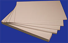 The PVC plastic which is made foam sheet 0,8-10mm