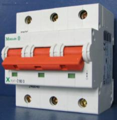 Автоматический выключатель Moeller 3P PLHT-C100/3
