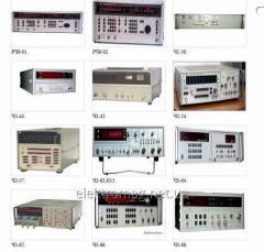 Частотомеры РЧ6-01, РЧ6-02, РЧ6-03, РЧ6-04, РЧ6-05, Ч3-33, Ч3-34, Ч3-36, Ч3-54, Ч3-57, Ч3-68