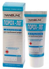 Nanoline Порох-ЛеГ бальзам для проблемної шкіри