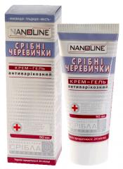 NanoLine Silver shoes cream-gel anti-varicose