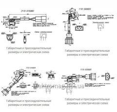 Жгут с микропереключателем 2110-6105890