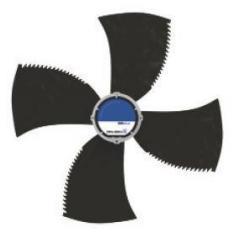 Вентилятор Ziehl-abegg FN091-ZIS.DG.V4P3...